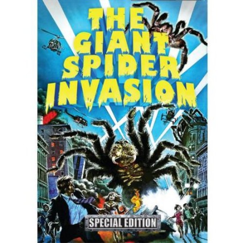The Giant Spider Invasion (Blu-ray + CD)