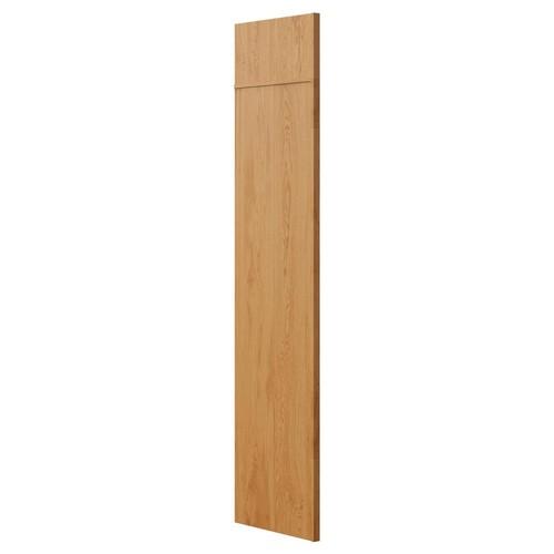 Hampton Bay 1.5x84x24 in. Refrigerator End Panel in Medium Oak