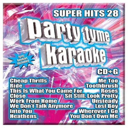 Party Tyme Karaoke: Super Hits 28 CD (CD+G)