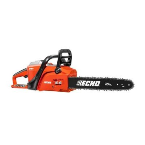 ECHO 16 in. 58-Volt Brushless Lithium-Ion Cordless Chainsaw - 4.0 Ah Battery and Charger Included