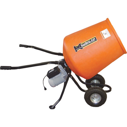 Kushlan Portable Electric Direct Drive Cement Mixer  3.5 Cubic Ft., Model# KPRO350DD