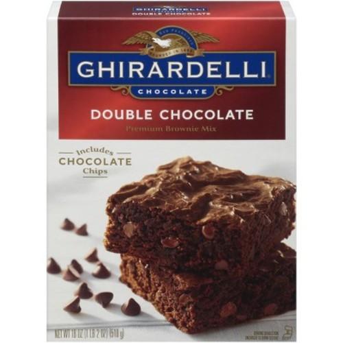Ghirardelli Double Chocolate Brownie Mix - 20 oz.
