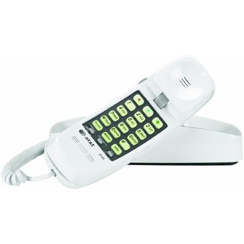 RCA Slim-Line Corded Telephone - 1103-1WTGA