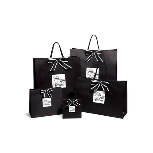 Infinity Leather Bucket Bag