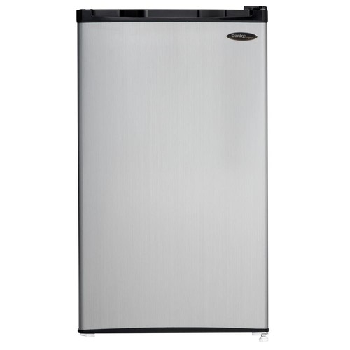 Danby 3.2 cu. ft. Mini Refrigerator in Black with Spotless Steel