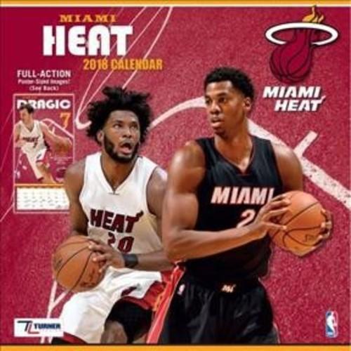 Miami Heat 2018 Calendar (Paperback)
