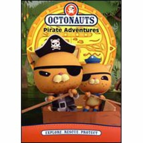 Octonauts: Pirate Adventures DVD