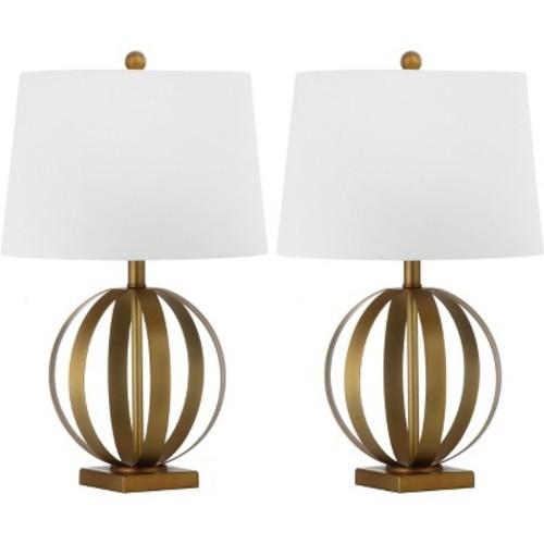 Euginia Sphere Table Lamp (Set of 2) - Safavieh