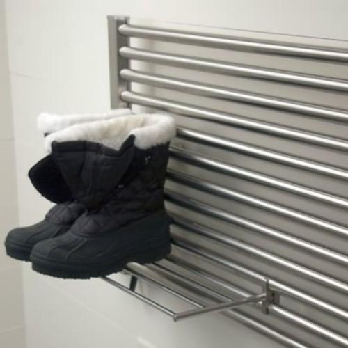 Amba Sirio Fixture Mounted Towel Rack; Brushed