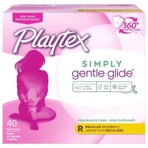 Playtex Gentle Glide Unscented Regular - 40ct