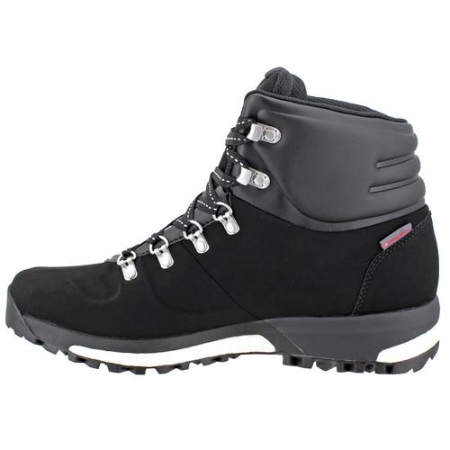 ADIDAS Men Terrex Pathmaker Climawarm Hiking Boots, Black/Chalk White/Tech Silver Met.