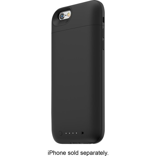 mophie - Juice Pack Air External Battery Case for Apple iPhone 6 - Black