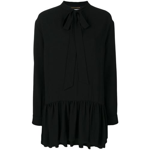 SAINT LAURENT Lavaliere Mini Dress
