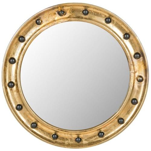 Safavieh Mariner Porthole 26.5 in. x 26.5 in. Iron Framed Mirror
