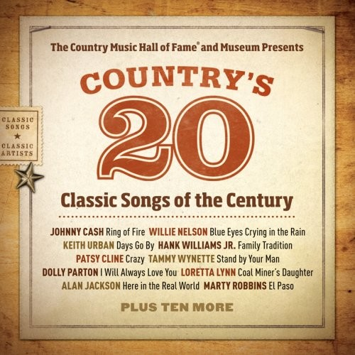 Country's 20 Classic Songs of the Century [CD]