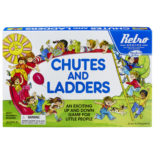 Chutes and Ladders Retro Series 1978 Edition Classic Game