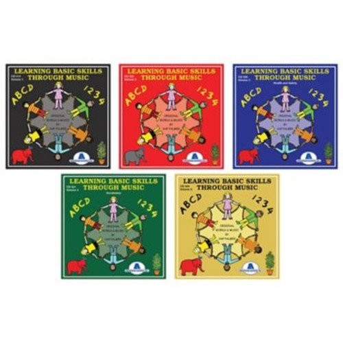 Educational Activities, Inc., Learning Basic Skills Through Music - Complete Set (CDLBSSET5)