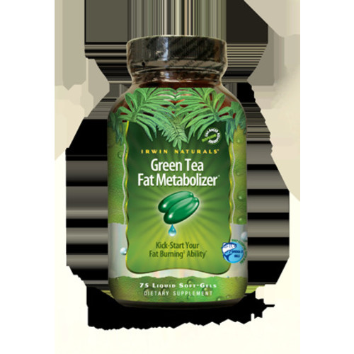 Irwin Naturals Green Tea Fat Metabolizer Economy Size Diet Supplement, 150 Count [150]