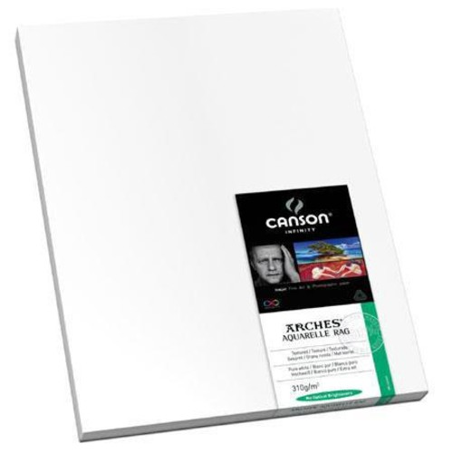 Canson Infinity Aquarelle Rag Textured Matte Fine Art Paper (17x22