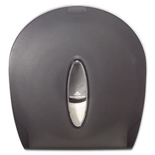 Georgia-Pacific Georgia Pacific 59009 Jumbo Jr. Bathroom Tissue Dispenser- 10 5/8 x 5 1/2 x 11 3/8- Translucent Smoke