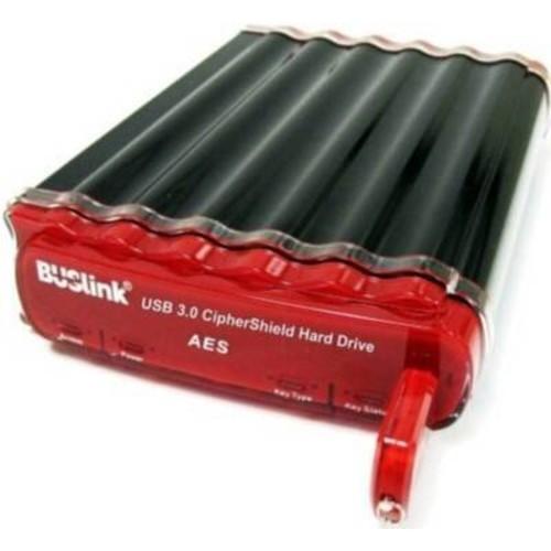 Buslink CSC-4T-SU3 4TB CipherShield USB 3.0/ eSATA AES 128-bit HIPPA NIST CERTIFIED Encryption External Drive