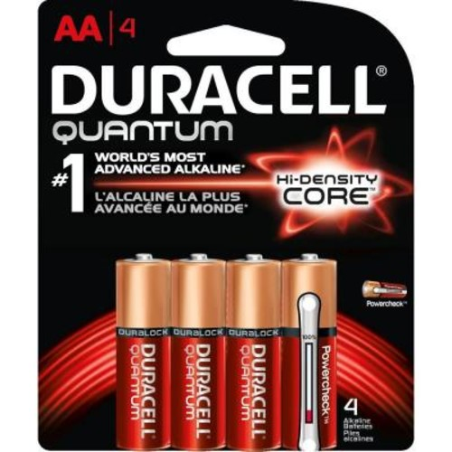 Duracell Quantum Alkaline AA Battery (4-Pack)