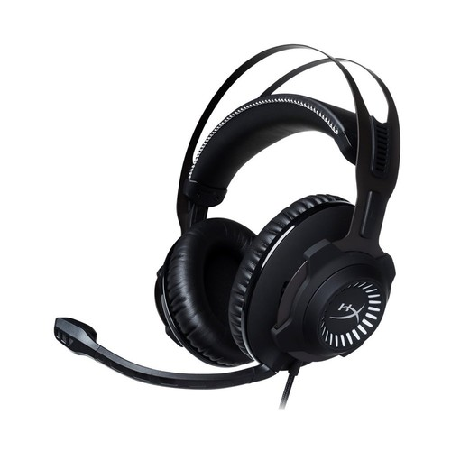 HyperX - Cloud Revolver S Wired Gaming Headset with Virtual Dolby 7.1 Surround Sound for PC, PS4, PS4 PRO, Xbox One - Black