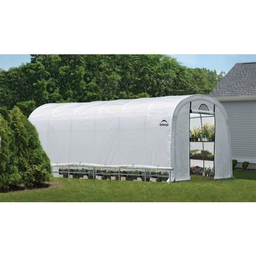 ShelterLogic GrowIT Heavy Duty Round Greenhouse 12 x 24 x 8 ft.