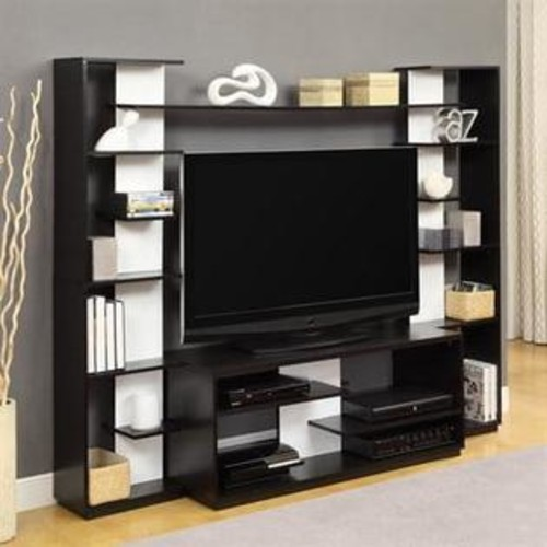 Ameriwood Home Home Entertainment Center with Reversible Back