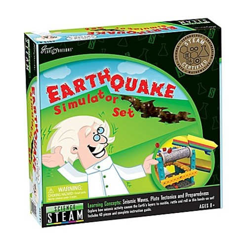 Great Explorations Earthquake Simula STEAM Learning System