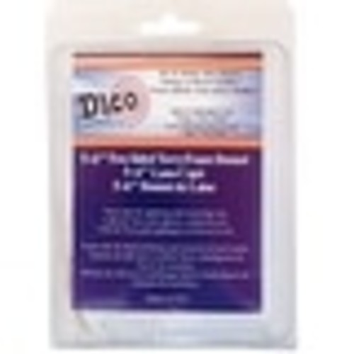 Dico Products 584-44340 Synthetic Tie-On Polishing Bonnet 6