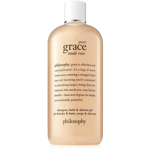 Pure Grace Nude Rose Shampoo, Bath & Shower Gel