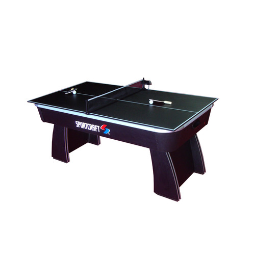 Sportcraft 6' Air hockey table with Table Tennis Top