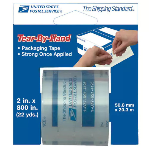 United States Postal Service Shipping Boxes & Tubes United States Postal Service Tear-By-Hand Tape