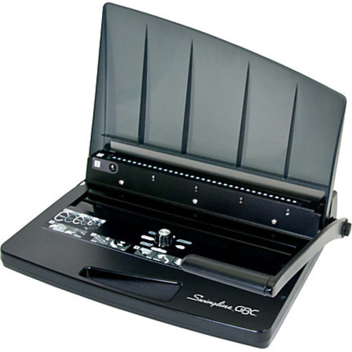 Swingline GBC W15 WireBind Binding Machine - WireBind - 125 Sheet(s) Bind - 15 Punch - Letter - Black