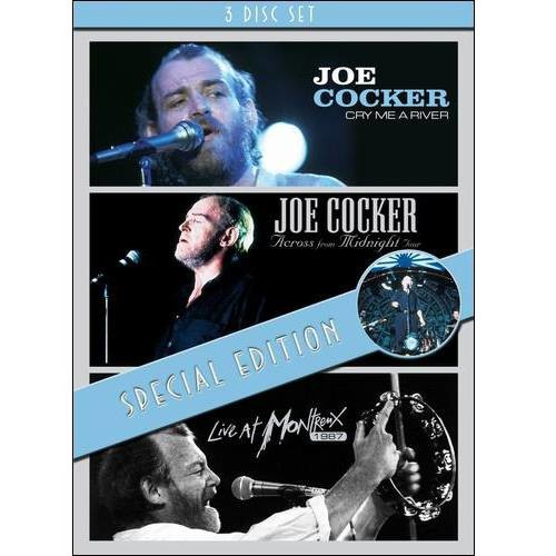 Joe Cocker: Cry Me a River/Across from Midnight Tour/Live at Montreux 1987 [3 Discs] [DVD]