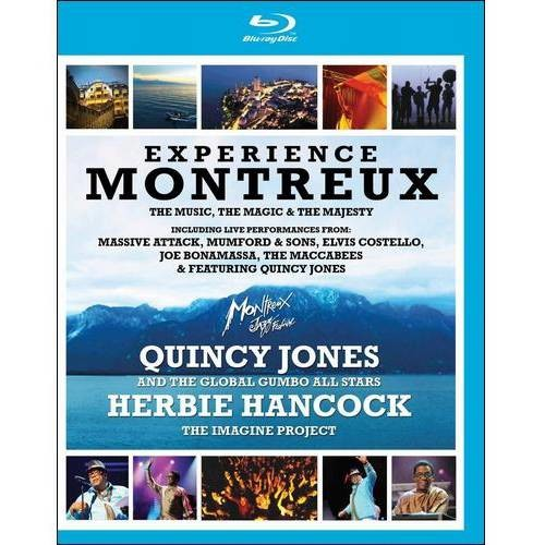 Experience Montreux [2 Discs] [Blu-ray] [2010]