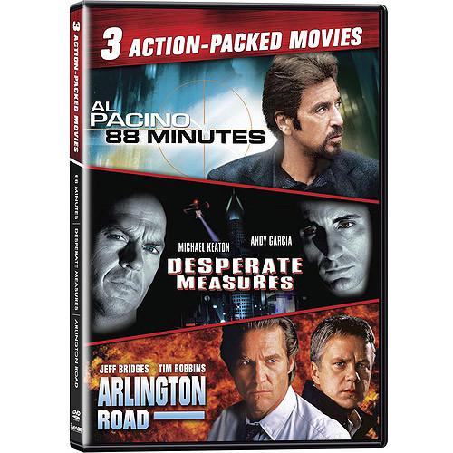 88 Minutes / Desperate Measures / Arlington Road (Widescreen)