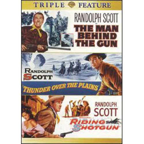 The Man Behind the Gun/Thunder Over the Plains/Riding Shotgun [2 Discs]