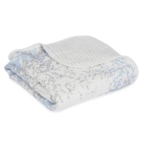 aden + anais Blue Moon Birch Classic Stroller Blanket