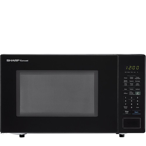 Sharp Carousel 1.4 Cu. Ft. 1000W Countertop Microwave Oven