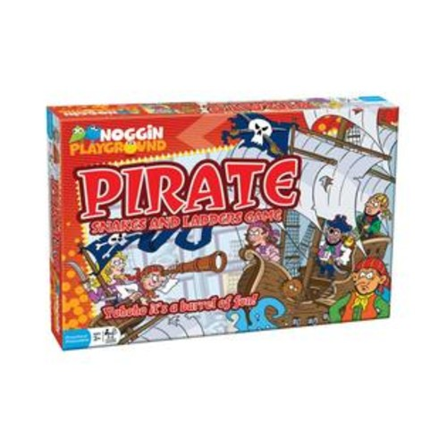 Outset Media Noggin Playground Pirate Snakes and Ladders Counting Game