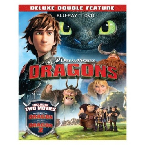 How to Train Your Dragon Collection (Blu-ray + DVD+ Digital)