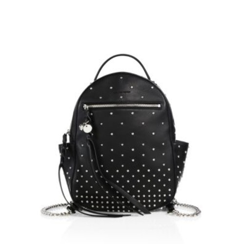 ALEXANDER MCQUEEN Studded Chain-Strap Leather Backpack