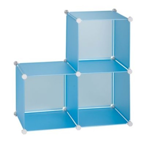 Honey-Can-Do 3-Pack of Storage Cubes and Toy Hammock
