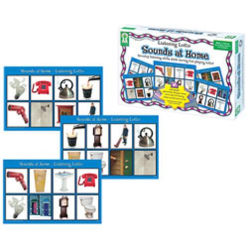 Carson-Dellosa Key Education Listening Lotto Game Sounds At Home