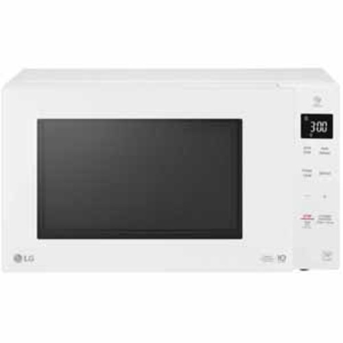 LG 1.3 cu. ft. NeoChef Countertop Microwave with Smart Inverter and EasyClean - Smooth White