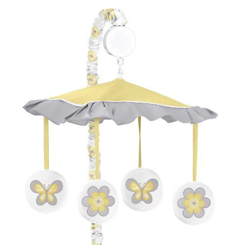 Sweet Jojo Designs Mod Garden Collection Musical Mobile