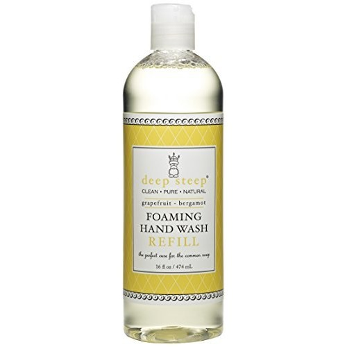Deep Steep Foaming Hand Wash Refill, Grapefruit Bergamot, 16 Ounce [Grapefruit Bergamot, 16 fl oz]
