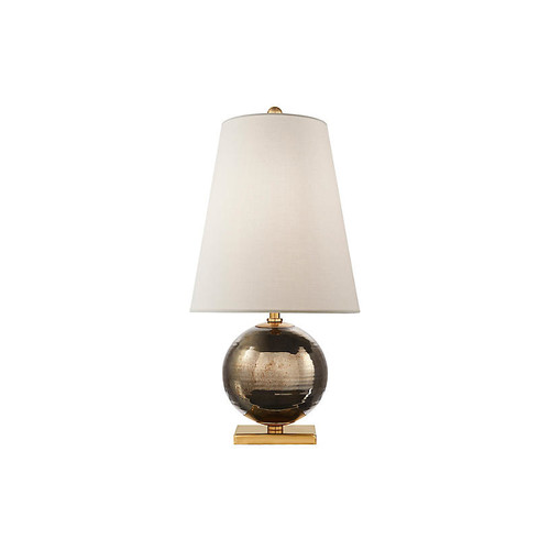 Corbin Table Lamp, Black Pearl/Brass